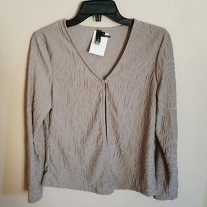 Bnwt cardigan, made in Canada, size S